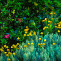 Colorful Irish Landscape by James Truett