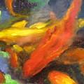 Colorful Koi by Susan Jenkins