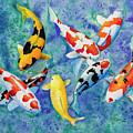 Colorful Koi by Corrado Ghioldi