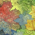Colorful Leaves by Eileen Blair