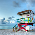 Colorful Lifeguard Tower by Coco Moni