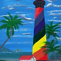 Colorful Lighthouse by Lawrence Booth