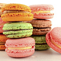 Colorful Macaroons by Milleflore Images