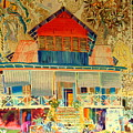 Colorful Mauritiun Cottage by John Potts