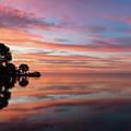 Colorful Morning Mirror - Spectacular Sky Reflections At Dawn by Georgia Mizuleva