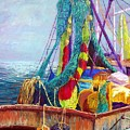 Colorful Nets by Candy Mayer