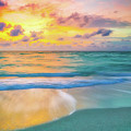Colorful Ocean Sky by DAC Photography