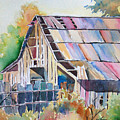 Colorful Old Barn by Michael Prout
