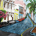 Colorful Old San Juan by Luis F Rodriguez