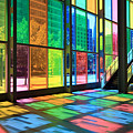 Colorful Palais Des Congres Montreal Canada by Pierre Leclerc Photography