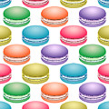 Colorful Pop Art Macarons by MM Anderson