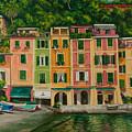 Colorful Portofino by Charlotte Blanchard