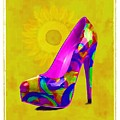Colorful Pump by Jann Paxton