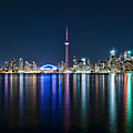 Colorful Reflections Of Toronto by Mark Whitt