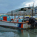 Colorful Saint Martin Power Boat Caribbean by Toby McGuire