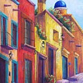 Colorful San Miguel by Candy Mayer