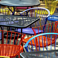 Colorful Seating by Karol Livote
