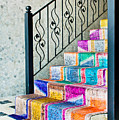 Colorful Stairs by Tom Gowanlock