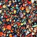 Colorful Stones Vi by Cristina Stefan