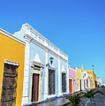 Colorful Street In Campeche, Mexico by Jess Kraft
