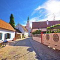 Colorful Street Of Baroque Town Varazdin View by Brch Photography
