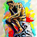 Colorful Thinker by Anthony Mwangi