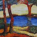 Colorful Trees by PJ Wetak