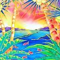 Colorful Tropics 12 by Hisayo Ohta