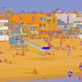 Colorful Venice Beach by Amer Khwaja