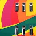 Colorful Wall by Yali Shi
