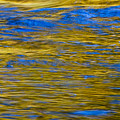 Colorful Water Surface by Bill Brennan - Printscapes