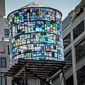 Colorful Water Tank By Tl Wilson Photography by Teresa Wilson