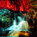 Colorful Waterfall by D Hackett
