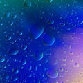 Colorfull Water Drop Background Abstract by Michalakis Ppalis