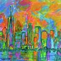 Coloring The Big Apple by Kendall Kessler