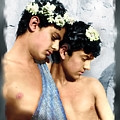 Colorized Edoardo And Vincenzo Galdi By Pluschow by Alex Lim