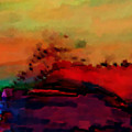 Colors In Aquarell by Ilona Burchard