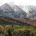 Colors Of Autumn On Mcclure Pass by Dan Sproul