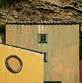 Colors Of Liguria Houses - Facciate Case Colori Di Liguria 2 by Enrico Pelos