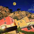Colors Of Liguria Houses - Facciate Case Colori Di Liguria 3 by Enrico Pelos