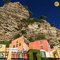 Colors Of Liguria Houses - Facciate Case Colori Di Liguria 4 by Enrico Pelos