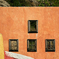 Colors Of Liguria Houses - Facciatecolors Of Liguria Houses - Facciate Case Colori Di Liguria 1 by Enrico Pelos