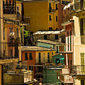 Colors Of Manarola Italy by Roger Mullenhour