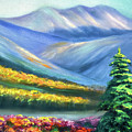 Colors Of The Mountains 2 by Gina De Gorna