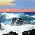 Colors Of The Ocean by Jeannee C Gannuch