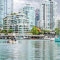 Colors Of Vancouver by Carol Cottrell