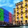 Colors Of Venice by Jeff Kolker
