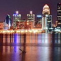 Colors On The Louisville Riverfront by Frozen in Time Fine Art Photography