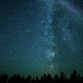 Colors Over The Milky Way by Lori Dobbs