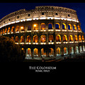 Colosseum At Night by Alan Zeleznikar